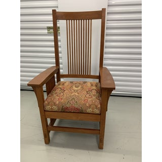 Stickley Spindle Arm Chair and Dining Chairs- Set of 10 Preview