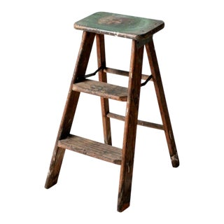 Vintage Step Ladder For Sale