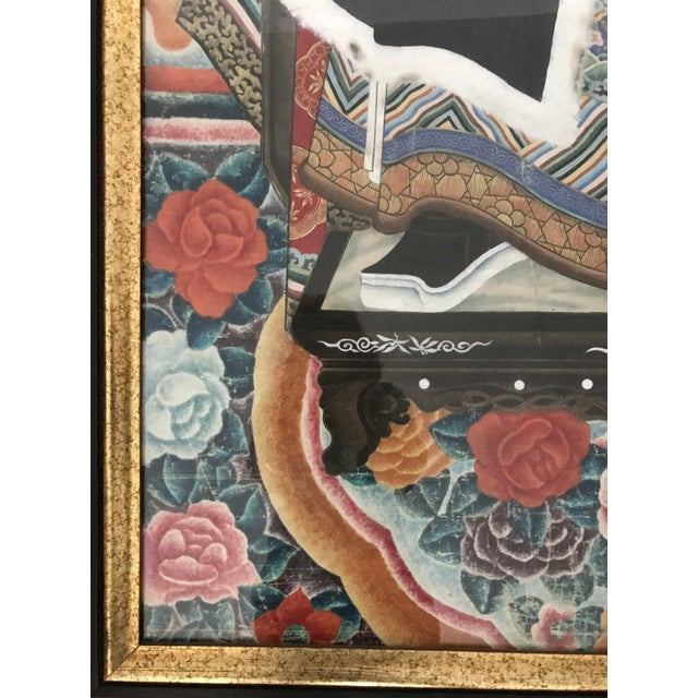 Blue Chinese Ancestor Painting of a High Ranking Gentleman For Sale - Image 8 of 10