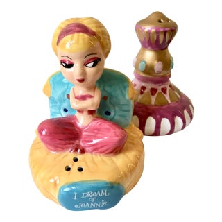 """I Dream of Jeannie"" Salt & Pepper Shakers"