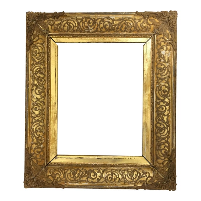 Well-known 19th Century Gold Gilded Frame | Chairish LP73