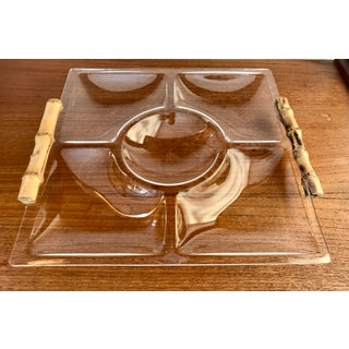 Vintage Lucite Serving / Trinket Tray Preview