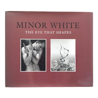 """Vintage Minor White Coffee Table Book """"The Eye That Shapes"""" For Sale"""