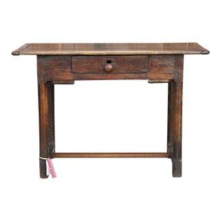 English Poplar Writing Table For Sale