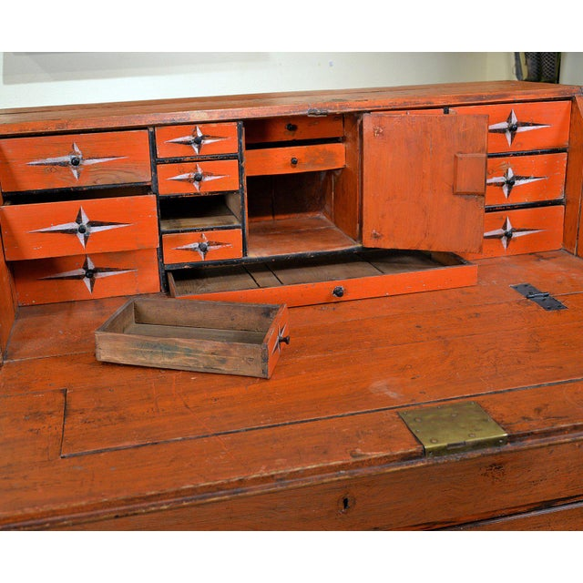 1848 Traditional Continental Slant Front Secretary Desk For Sale In San Francisco - Image 6 of 7