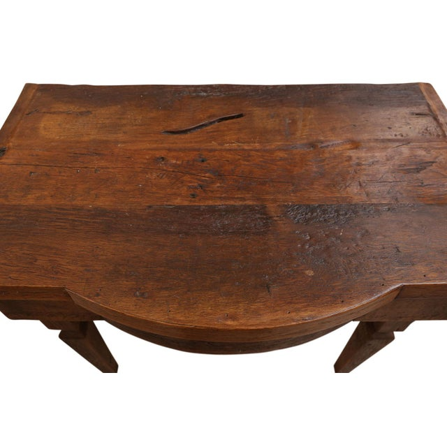 French Walnut Vanity Table For Sale - Image 4 of 8
