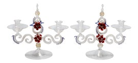 Image of Red Candle Holders