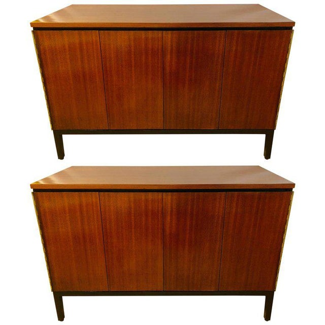Paul McCobb for Calvin Mid-Century Chests or Nightstands - A Pair For Sale - Image 11 of 12