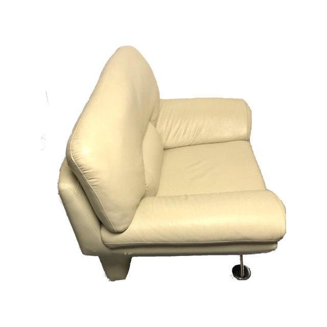 Naugahyde Atomic Club Chair - Image 7 of 10