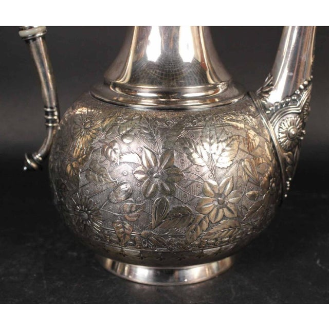 Aesthetic Movement Moorish Coffee Pots From the Aesthetic Movement - Set of 3 For Sale - Image 3 of 7