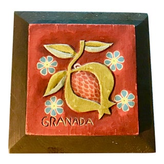 Granada Wooden Wall Carving For Sale