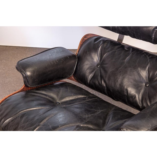Second Generation 1960s Eames 670 Lounge Chair for Herman Miller For Sale - Image 11 of 11