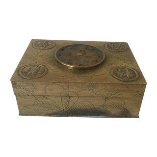 Asian Motif Box For Sale