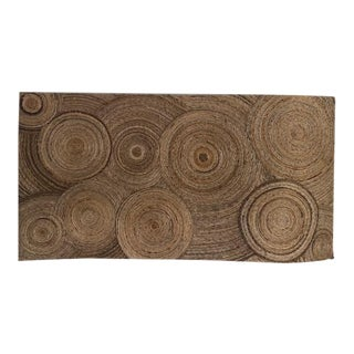 Large Wicker Rattan Wall Art For Sale