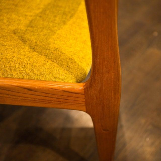 Danish Modern Teak Dining Chairs - 4 - Image 5 of 5