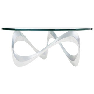 """Snake"" Coffee Table by Knut Hesterberg for Ronald Schmitt, Circa 1960"