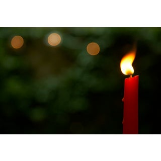 """""""Red Candle"""" Contemporary Photograph by John Manno For Sale"""