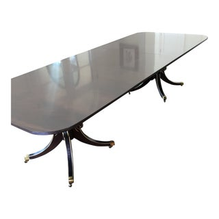 Newport Pedestal Base Dining Table For Sale