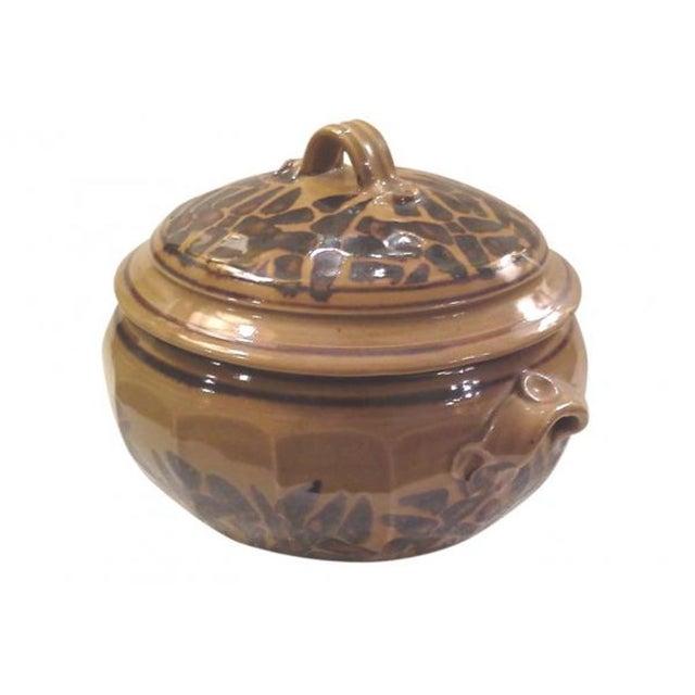 Studio Pottery Ceramic Casserole For Sale