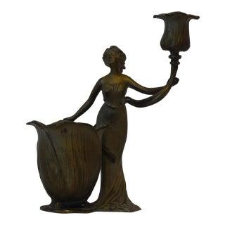 Art Nouveau Candleholder / Vase