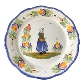 Image of Henriot Quimper Decorative Plates