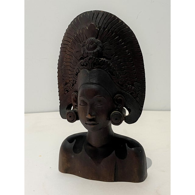 Vintage Balinese Carving For Sale - Image 4 of 13
