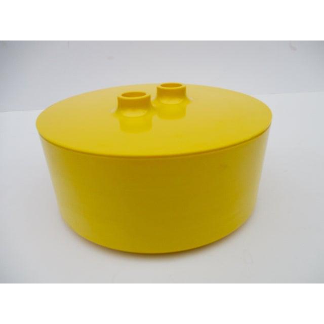 Massimo Vignelli Yellow Melamine Salad Bowl - Image 2 of 11