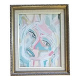Image of Beth Downey Abstract Face Painting For Sale