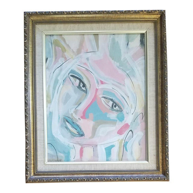 Beth Downey Abstract Face Painting For Sale
