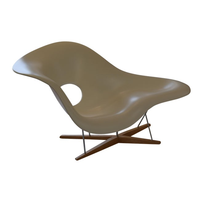 Authentic Eames La Chaise Produced by Vitra For Sale