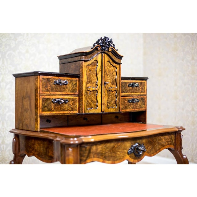 Louis XV 19th Century Writing Desk in the Louis Philippe Style For Sale - Image 3 of 10