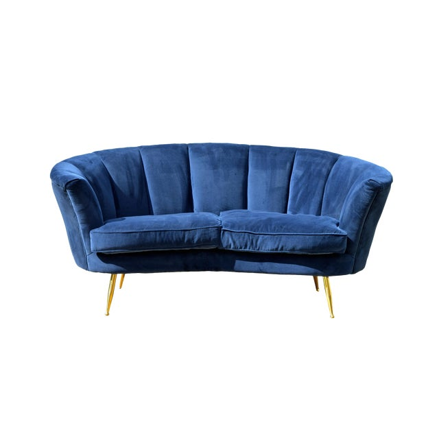Italian Modern Loveseat - Image 1 of 7