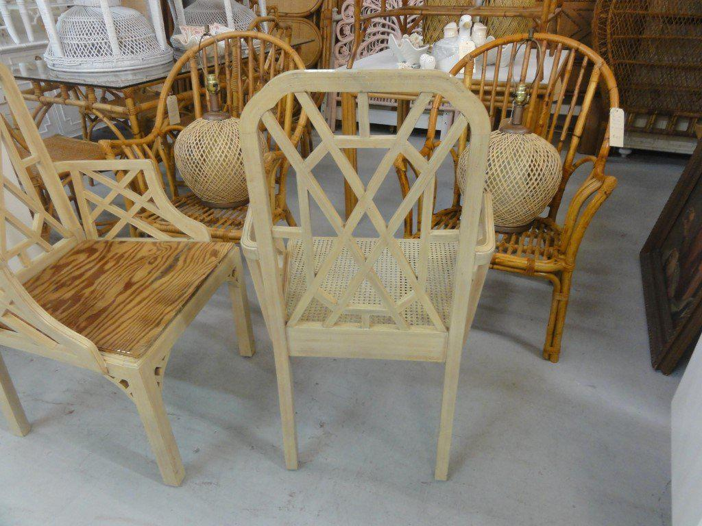 Palm Beach Regency Fretwork Chairs   Set Of 6   Image 3 Of 11