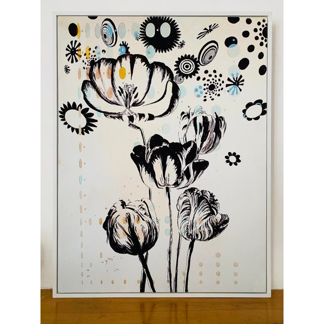 Last Markdown: Tulipiere 220 Framed Fine Art Giclee on Canvas For Sale - Image 4 of 9