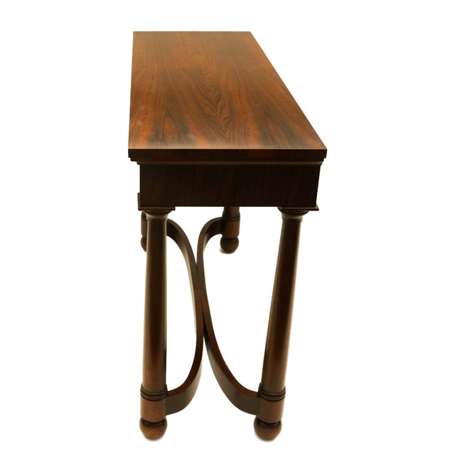 Rosewood Console Occasional Table - Image 3 of 10