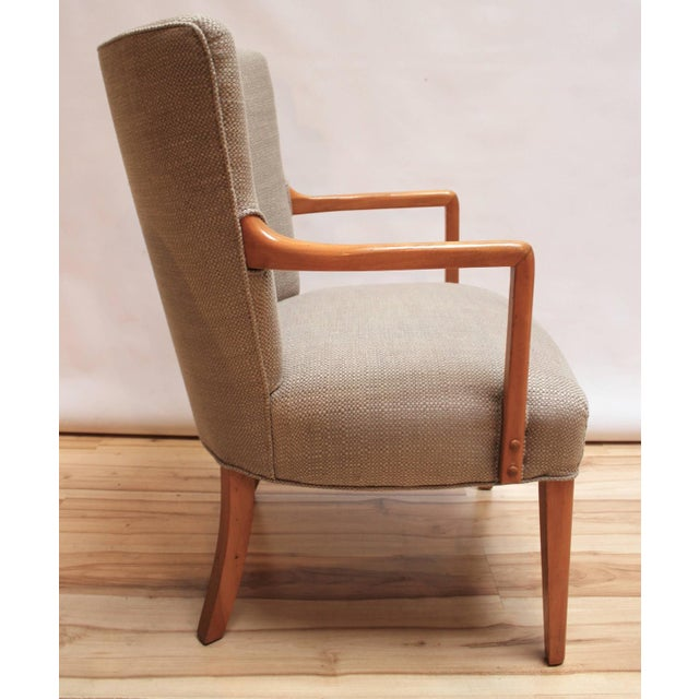 Mid-Century Modern Lounge Chairs - Pair - Image 3 of 10