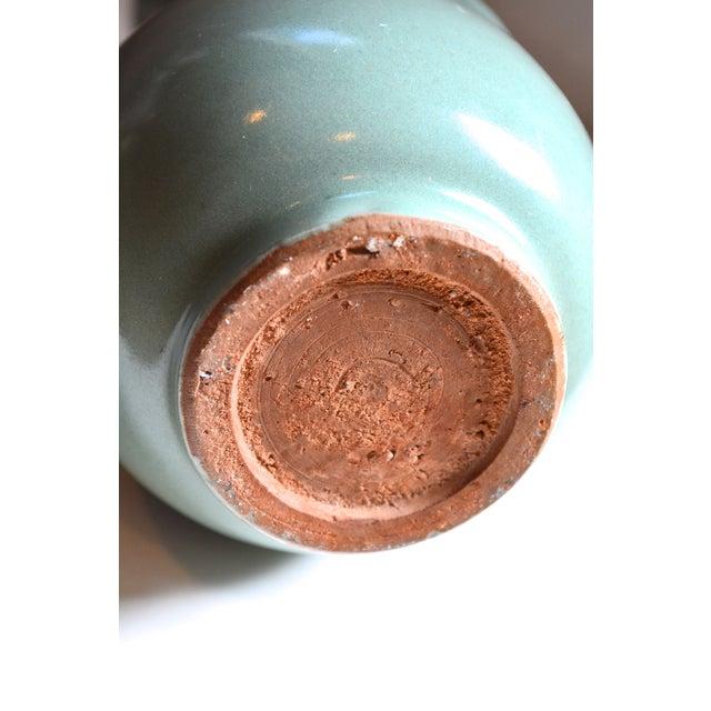 Vintage Asian Glazed Vase/Pot - Image 6 of 6