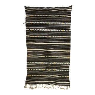 1980s Berber Handira Throw For Sale