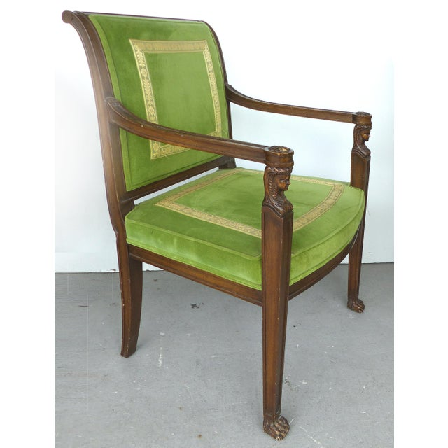 Mid 20th Century Cocheo Bros, Fine Quality Chairs - A Pair For Sale - Image 5 of 11