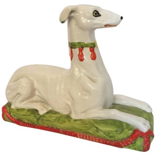 Ceramic Whippet For Sale