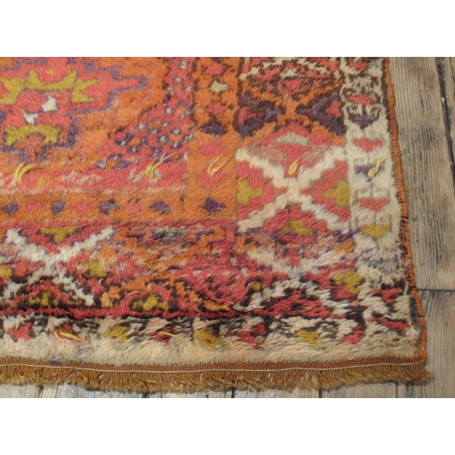 Early 20th Century Herki Long Rug For Sale - Image 5 of 7