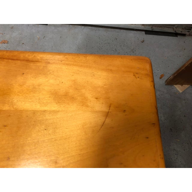 Wood Heywood-Wakefield Ashcraft Side Table 111a For Sale - Image 7 of 9