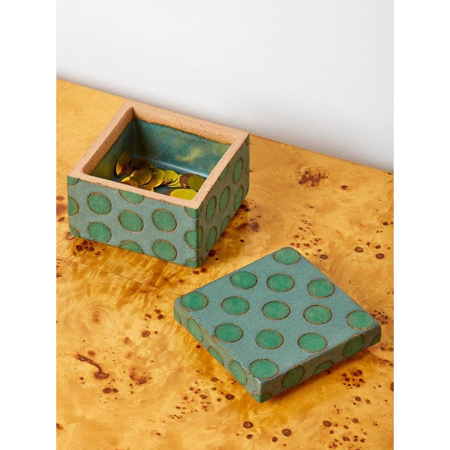 Matthew Ward Studio Ceramic Box For Sale - Image 4 of 5