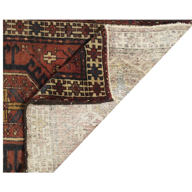 Vintage Persian Karaje Runner - 2.10 x 10.10 For Sale - Image 4 of 4