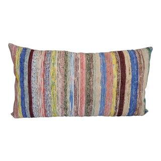 Huge Cushion Handmade Turkish Kilim Ragrug Pillow Cover Throw -22″ X 25″
