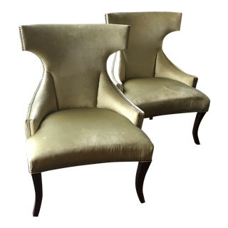 Ferguson Copeland Chairs - A Pair For Sale