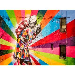 """Kiss - New York City"" Contemporary Street Art Photograph For Sale"
