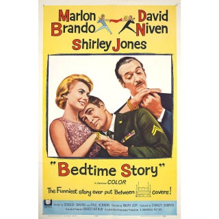Bedtime Story 1964 U.S. One Sheet Film Poster For Sale