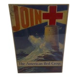 Image of Vintage WWII American Red Cross Poster For Sale