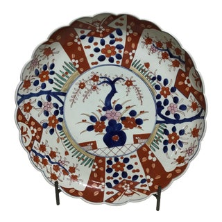 Early 20th Century Imari Charger For Sale